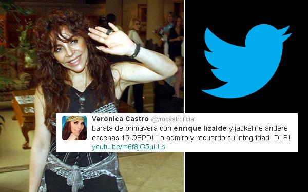 Verónica Castro. (Foto: Reuters/ Twitter)