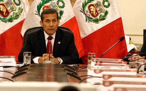 Presidente Humala lamentó ausencia de políticos en cita por fallo de La Haya