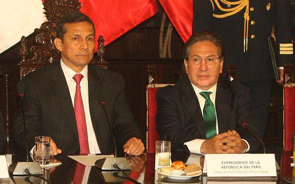Ollanta Humala negó blindaje a ex presidente Alejandro Toledo