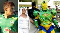 VIDEO: Neymar y Brasil entrenaron 'resguardados' por Iron Man y Batman
