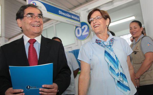 Pacientes del SIS serán atendidos gratis en centros del Sisol, anunció Villarán